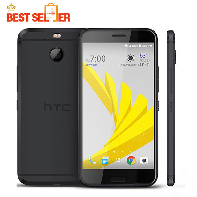 מקורי HTC Evo 10 4G LTE טלפונים ניידים HTC 10 Evo Andriod 7.0 5.5 אינץ 3 GB RAM 32 GB ROM NFC IP57 עמיד למים 16.0MP טביעות אצבע