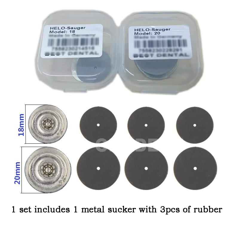 1 Set Dental Lab Materials Dental Sucker Denture Plate Retention For Full Upper Denture Acrylic Partial Denture