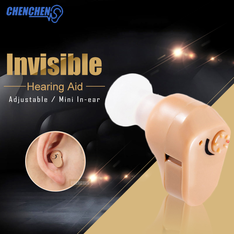 Elderly Deaf Hearing AID Ear Sound Assistance Voice Amplifier Adjustable Volume In Ear Hearing AIDS Portable Mini Ear Care in Ear Care from Beauty Health