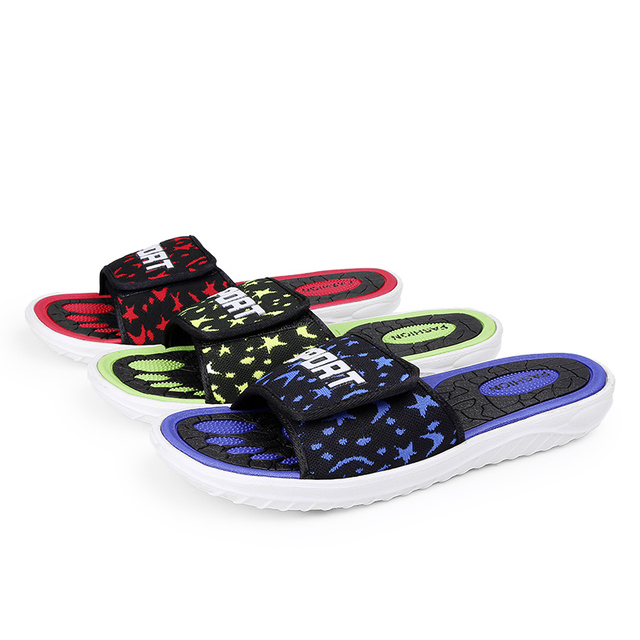 8c0f5a3bb1cf Big Size Men Outdoor Sandals Summer Super Light Cool Beach Slipper  Breathable Fly Line Sport Sandals EVA Non-Slip New Male Flats