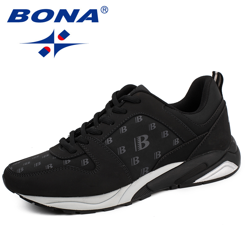 $34.86 BONA New Arrival Classics Style Men Running Shoes Lace Up Men Athletic Shoes Outdoor Physical Exercise Jogging Sneakers