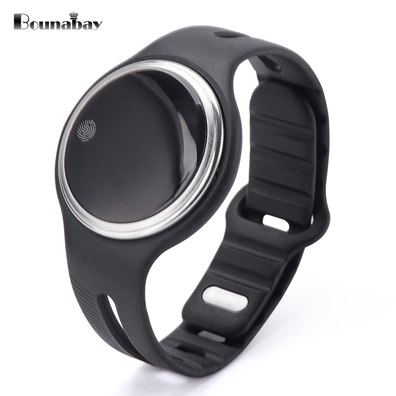 BOUNABAY Bluetooth 4.0 Smart woman watch for apple android ios phone waterproof ladies Clock Touch Screen women woman's Clocks top brand smart watch camera 1 2 inch tft capacitive touch screen shaking bluetooth heartrate for ios apple phone android phone