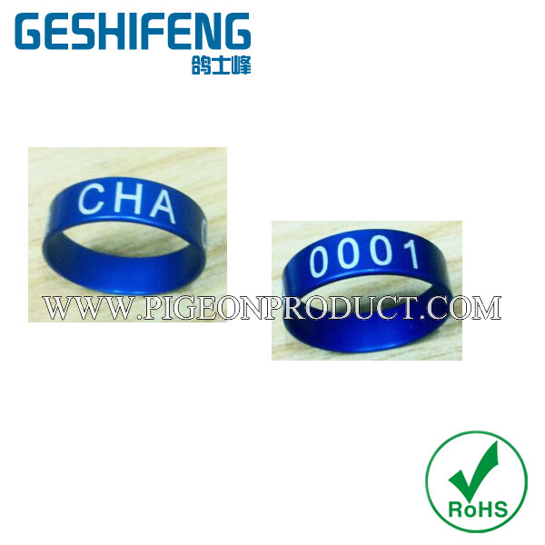 US $150 0 |400pc free shipping 8mm pigeon ring bands for 2017 free color  ring with seial number 1 400 pigeon rings-in Bird Training from Home &  Garden