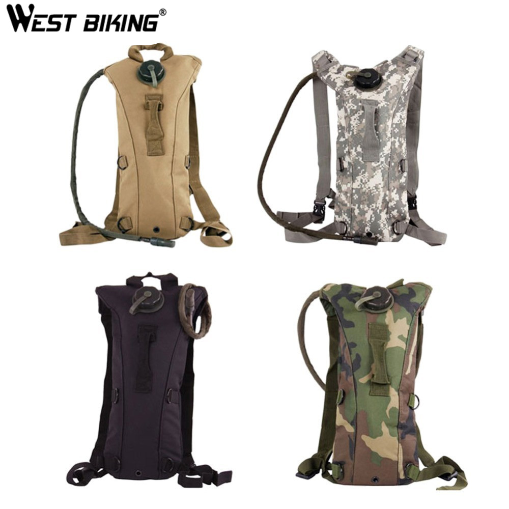 WEST BIKING Cycling Bag Bike Camelback Hydration System Bladder Backpack Climbing Hiking Mountain Cycling Water Bag Bicycle Bags roswheel 22l ultralight cycling mountain bike bag hydration pack water backpack reflective bicycle bike hiking climbing pouch