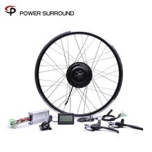 Bicicleta Eletrica 48v500w Bafang 앞/뒤 전기 자전거 변환 키트 브러시리스 허브 모터 20 26 28 모터 휠