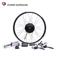 Bicicleta Eletrica 48v500w Bafang Vorne/hinten Elektrische Bike Conversion Kit Bürstenlosen Hub Motoren 20 26 28Motor Rad