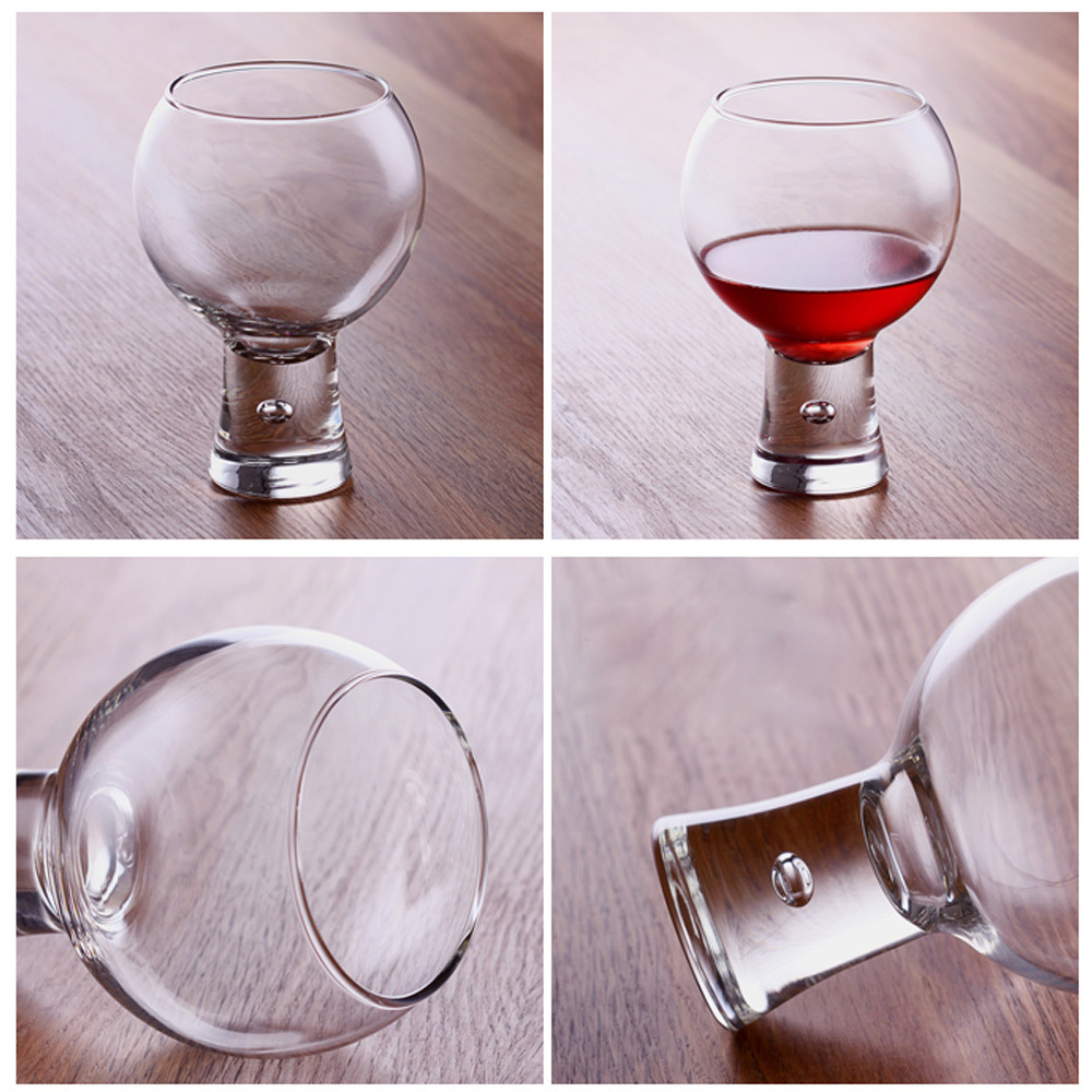 Glass juice cups design - Aliexpress Com Buy Cute O Shape Belgium Design Lead Free Glass Red Wine Glass Tumblers Drink Juice Cup Crystal Party Supply Champagne Free Shipping From