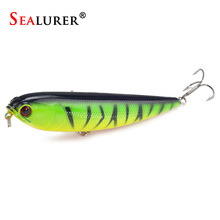 1pcs Fishing Pencil Lure Topwater Dogs Hard Lures Baits 12cm/22g Plastic Wobbler Artificial Hard Bait Fishing Tackle