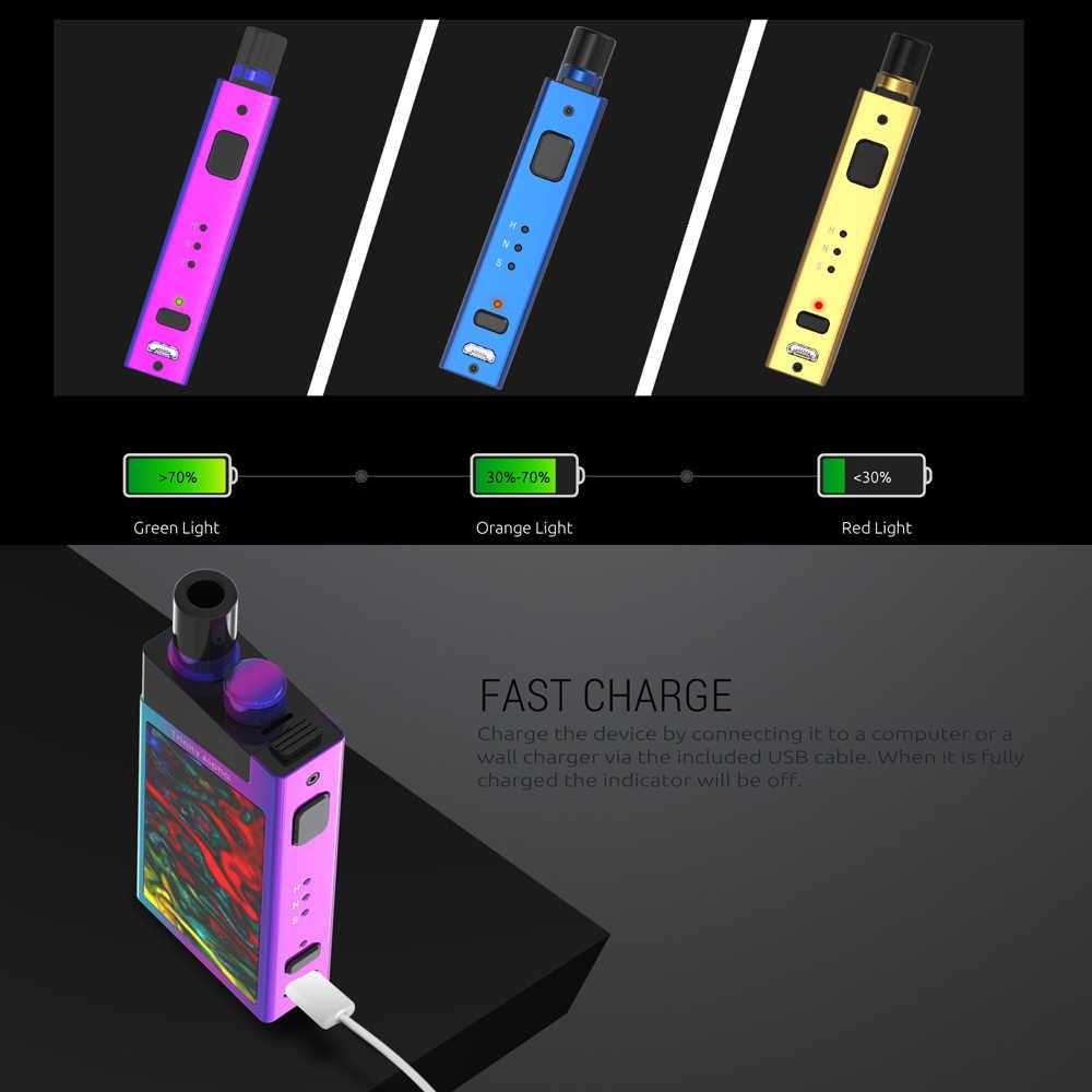 Mới Vape SMOK Ba Ngôi Alpha Bộ Pod Hệ Thống Vape Kit với pin 1000mAh 2 8ml  Hộp thuốc lá Điện Tử Vape VS SMOK Stick