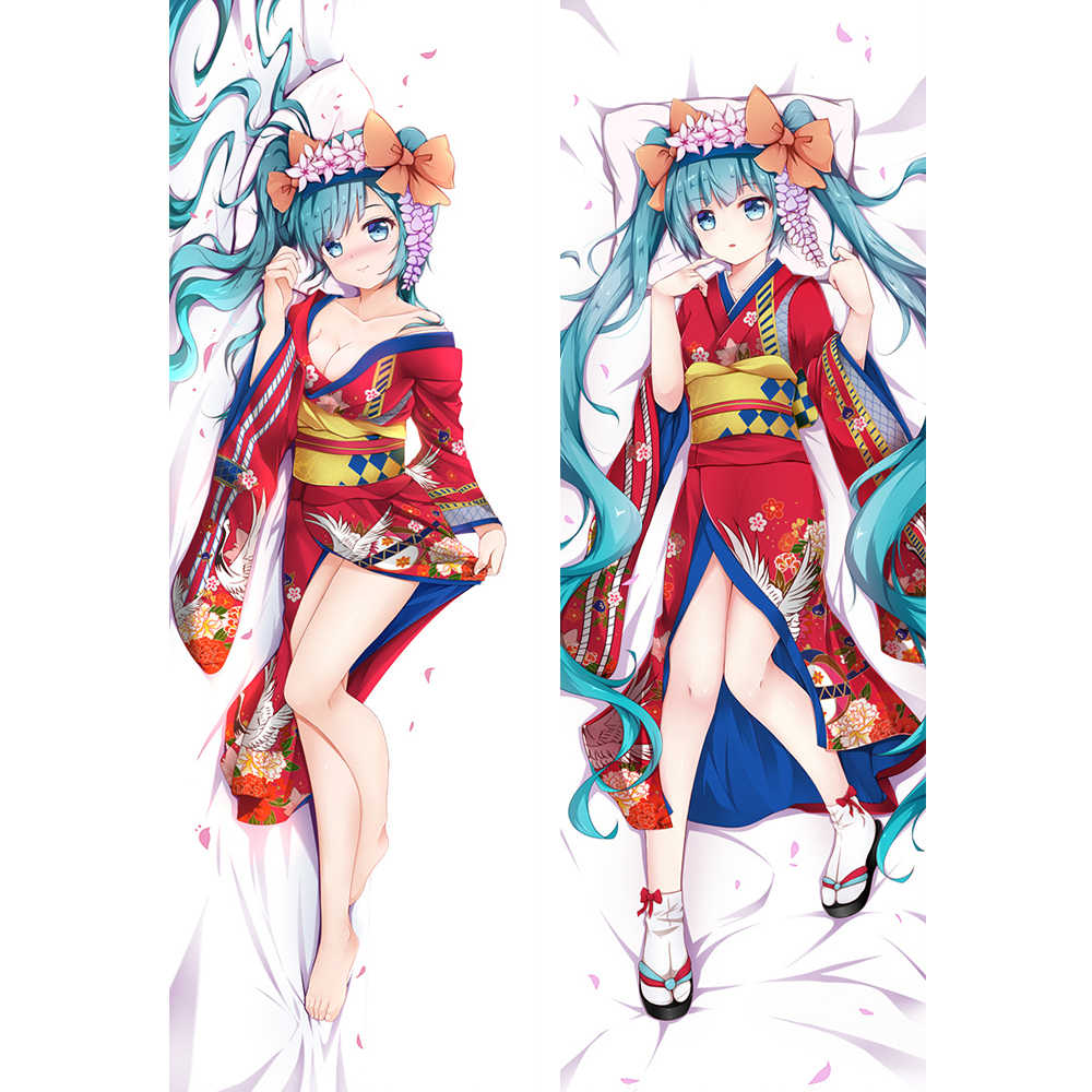 Wonder Woman Body Pillow.2019 Snow Miku Racing Miku Hatsune Bunny Hugging Body Pillow Cover Case Kimono Miku Decorative Pillowcases