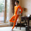 New Mens Long Johns Soft Modal Thermal Underwear Sets Winter Legging Men Warm Sexy V-Neck Long John For Men