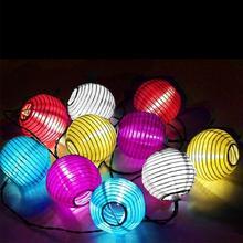 Fairy Led Solar Light Yard Garland String Night Lights 20 30 LED Lantern Ball Decoration Outdoor Garden Lamp Wedding Cloth Party