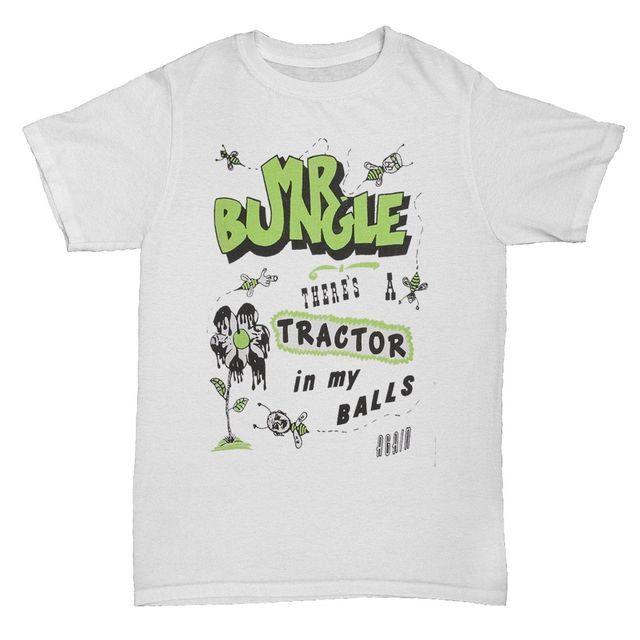 60e9e13c7 MR BUNGLE TRACTOR IN MY BALLS MUSIC PUNK ROCK CHINESE T SHIRT-in T ...