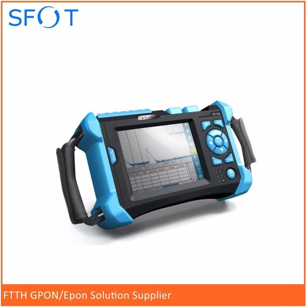 OTDR TR600 with 1310/1550nm 32/30dB Visual Fault Location Function Optical Fiber OTDR communication Fiber Testing equipment
