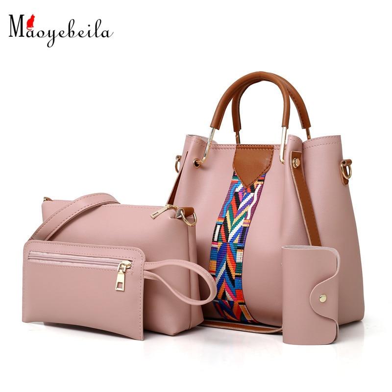 Handbags Messenger-Bags Pu-Shoulder-Bag Women Bag Small Fashion for Wallet Flap Simplicity
