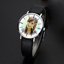 Hot DIY Relógio de Quartzo relógio de Pulso Para O Amante Relógio de Pulso Das Mulheres Dos Homens das Crianças Impressão de Fotos Imagem Instalado Presente Personalizado