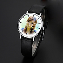 Hot DIY Watch Quartz WristWatch For Lover's Men Women Children Photo Printing Picture Installed Wrist Clock Customized Gift