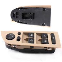 61319217334 Beige Panel Power Window Control Switch For BMW E90 318i 320i 325i 335i High Quality Console Left Car Accessories|Car Switches & Relays|   -