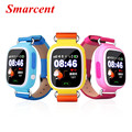 Q90 Сенсорный Экран Малыш Smart Watch GPS Местоположение PK Q80/Q60/Q50 ребенок Gps-часы SOS Wi-Fi Наручные Часы Силиконовый Ремешок IOS и Andriod
