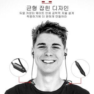 Image 2 - Baseus S06 Bluetooth Oortelefoon Magnetische Draadloze Oortjes Nekband Oordopjes Sport Stereo Oortelefoon Voor Telefoon Headset Met Microfoon