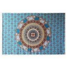Богемия Гобелен стене висит Мандала печатных дома декоративные индийский 130*210 см Boho стены Ковёр