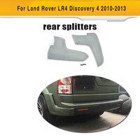 Брызговики переднего бампера для Land Rover LR4 Discovery 4  Спортивная Утилита для внедорожника 4D 10-13  сплиттер заднего бампера из серого полиуретана