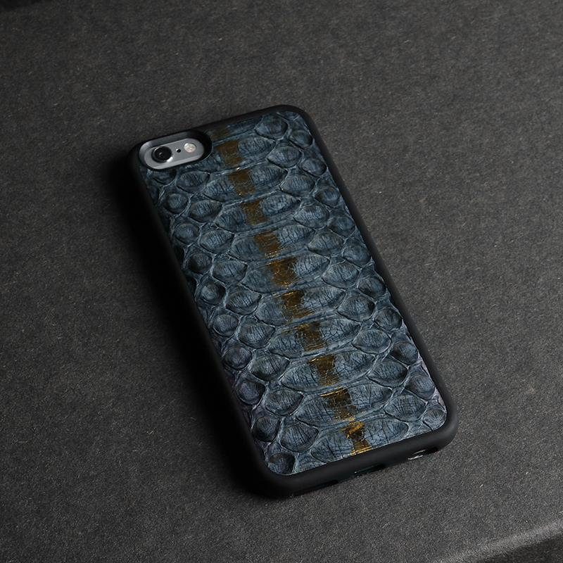 size 40 07438 36e47 US $55.02 |Luxury Snake Skin Leather cell phone case for apple iphone X 8  plus mobile phone back cover luxury package-in Fitted Cases from Cellphones  ...