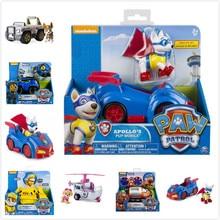 Without box! Genuine Paw Patrol Paw Patrol -ryder everest zuma Vehicle and Figure Puppy Patrol action figure kids Birthday Gift цена 2017