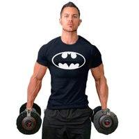 Новое поступление быстросохнущая рубашка сжатия Рубашка с короткими рукавами футболка плюс Размеры Фитнес Костюмы сплошной цвет быстросо...
