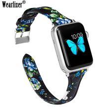 Гибкий ремешок для часов apple watch iwatch 38 мм 42 браслет