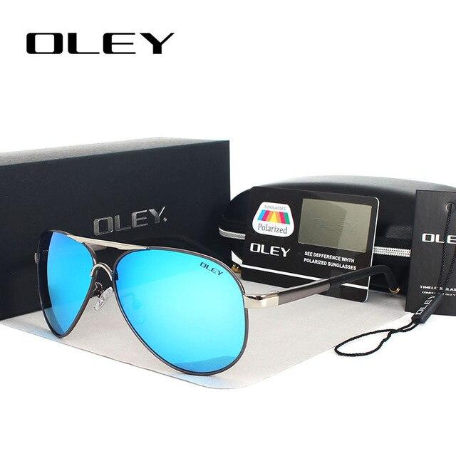44d8dd8b9b2863 OLEY Unisex Polarized Sunglasses Men brand designer Women Driving Sun  Glasses coating spectacles lunettes de soleil pour hommes