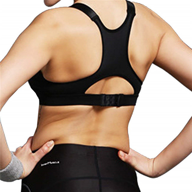 SEXYWG Hot Women Zipper Push Up Sports Bras Vest Underwear Shockproof Breathable Gym Fitness Athletic Running Yoga Bh Sport Tops 1