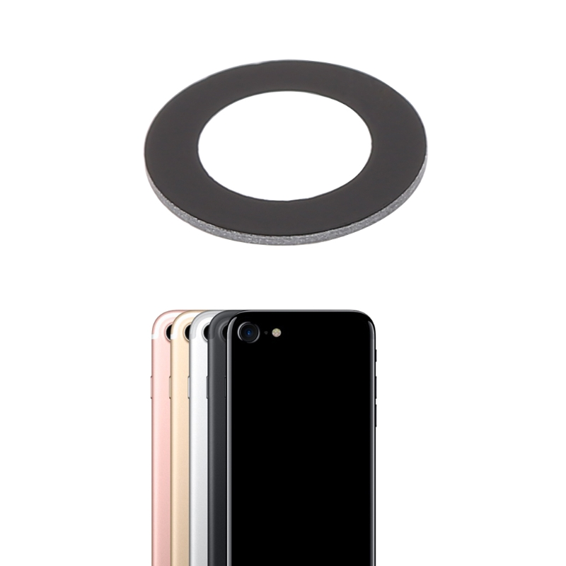 Phone Rear Camera Lens Glass Cover With Adhesive Sticker For IPhone 7 4.7 Inch