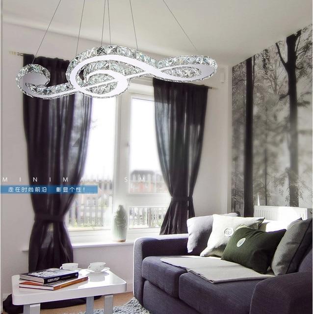 2015 Modern Music Sample Design Dining Room Crystal Chandelier For  Restaurant Decorative Bedroom Hanging Chandelier Lights