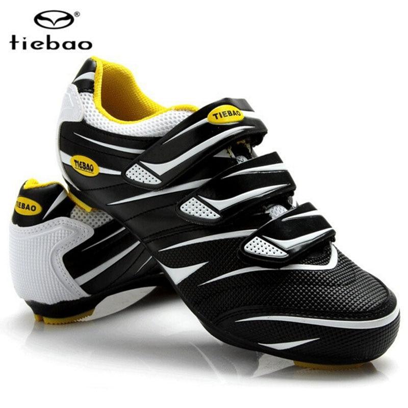 Teibao Cycling Shoes For Womem & Men Road Bicycle Cycling Shoes MTB Mountain Bike SPD SP ...