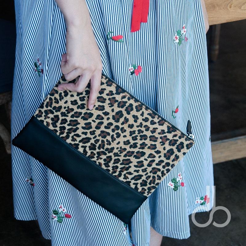 Kurzflorigen Velour Cheetah Handtasche Großhandel Rohlinge Leopard Patchwork Handtasche Bridemaid Geschenk Abendtasche Dom106668 Damentaschen Abendtaschen