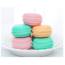 2019 Brand New High Quality 4 x 2cm Mini Macarons Organizer Storage Box Case Carrying Pouch Color Random(China)
