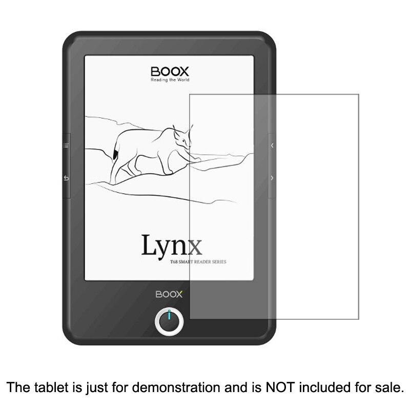 Tablet-zubehör Clear Lcd Pet Schild Film Anti-scratch-screen Protector Abdeckung Für Onyx Boox T68ml T76 Plus 6,8 Zoll Tablet Zubehör