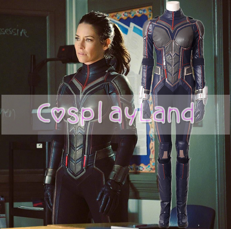 Ant-Man and the Wasp Cosplay Costume Halloween Costumes Superhero Ant-man 2 the Wasp Costume Custom Made for Adult Women Suits