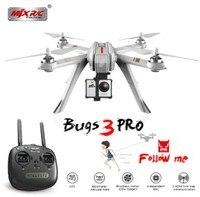 Профессиональный MJX ошибок 3PRO B3 Pro RC Drone безщеточный gps Дрон Quadcopters удаленного Управление вертолет 5 г WI FI FPV Камера