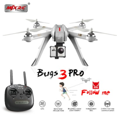 Professional MJX Bugs 3PRO B3 Pro RC Drone Brushless Motor GPS Dron Quadcopters Remote Control RC Helicopter 5G WIFI FPV Camera басовый усилитель ampeg svt 3pro