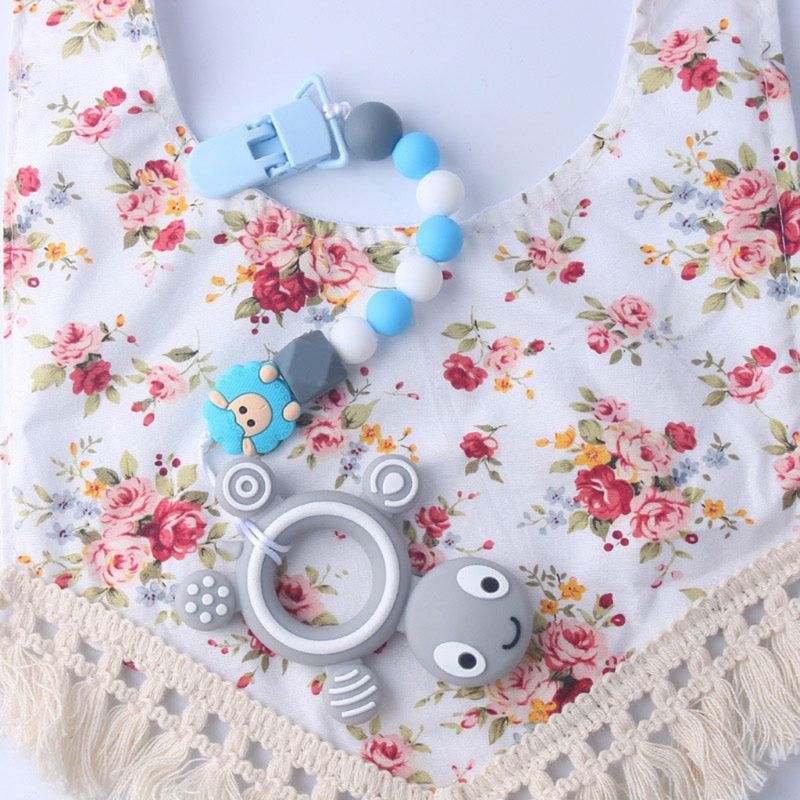New Premium Child Baby Pacifier Chain Soothing Boys Girls Cute Sheep Colorful Design Kids Toys in Pacifier from Mother Kids
