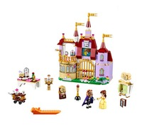Blocks Blemay Ice Palace Castle Belle Enchanted Castle Beauty And Beast Compatible With Legao 37001