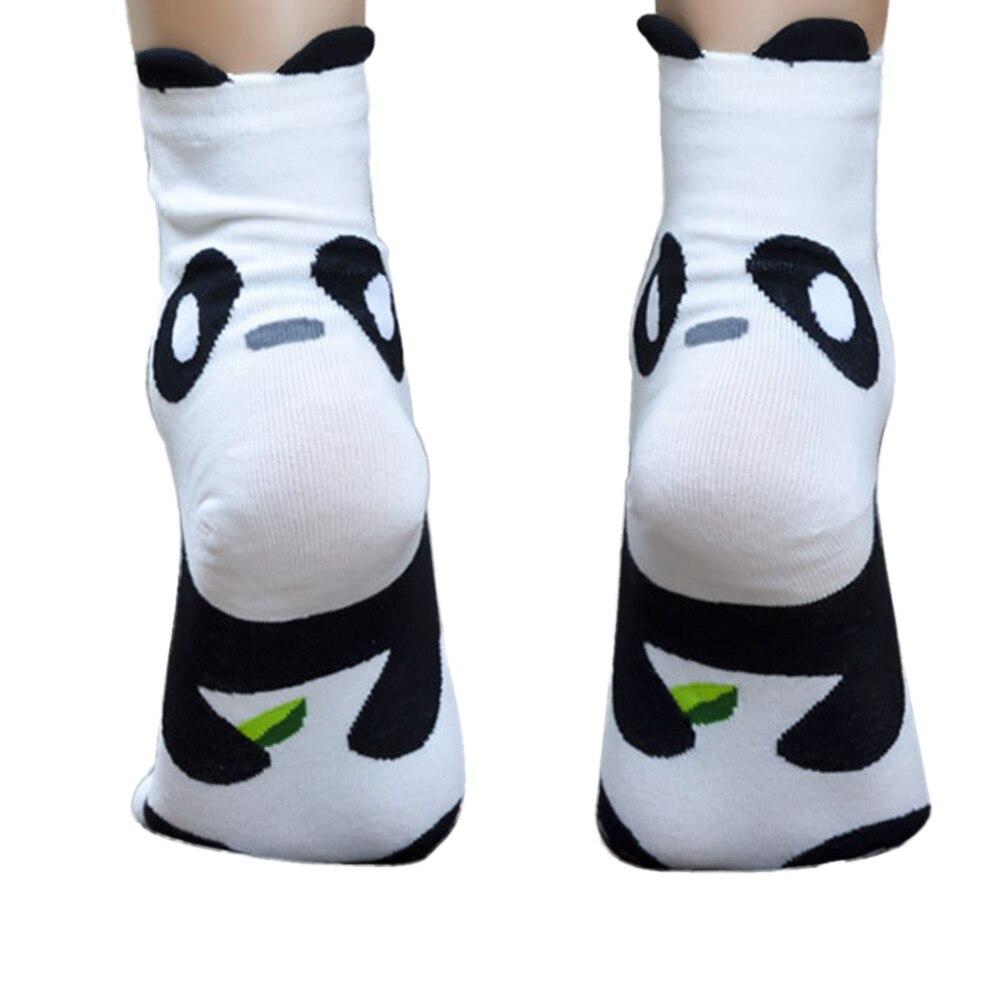 Для женщин носки с мультяшным рисунком 2019 новый стиль fation хлопок милые модные уникальные Для женщин девушки мультфильм Симпатичные животны...