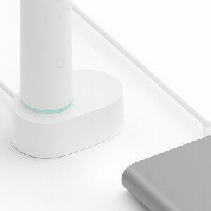 Image 3 - Xiaomi Mijia T500 sonic cepillo de dientes eléctrico adulto impermeable Ultra sónico cepillo de dientes blanqueador USB recargable APP Control