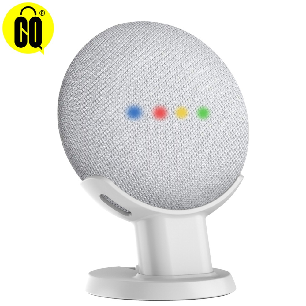 New Outlet Desktop Stand For Google Home Mini Voice Assistants Compact Holder Case Plug in Kitchen