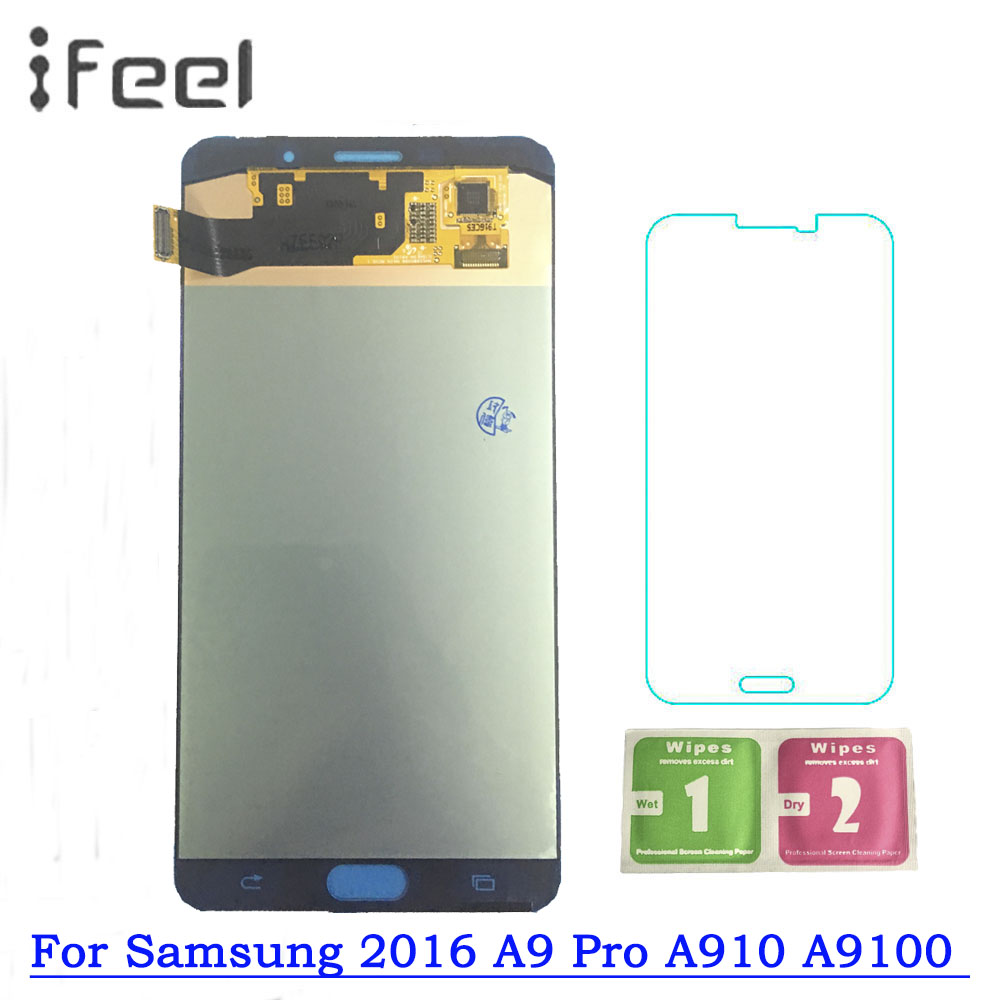 Super AMOLED LCD For Samsung Galaxy 2016 A9 Pro A910 A9100 Display Touch Screen Assembly Free Shipping Super AMOLED LCD For Samsung Galaxy 2016 A9 Pro A910 A9100 Display Touch Screen Assembly Free Shipping