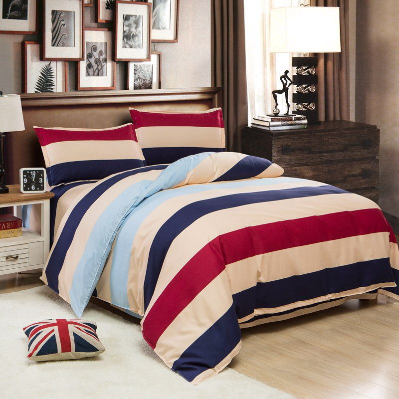 Quality Guaranteed Cotton Bedding Set Bed Linen Duvet Cover Bed Sheet King Size Pillowcase