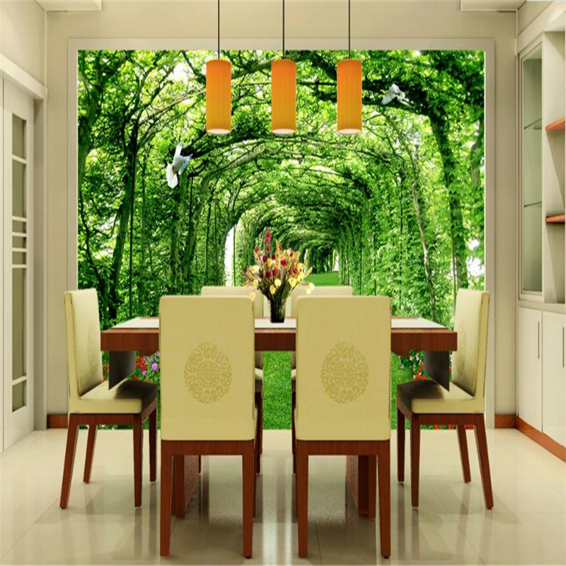 3D Nature Landscape Wallpapers for Walls Papers Home Decor Green ...