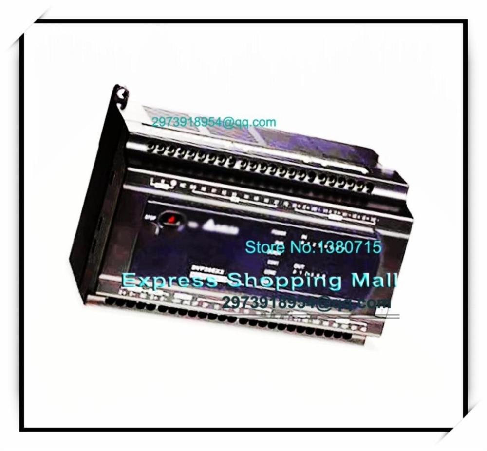 New Original DVP30EX200T Delta PLC EX2 series 100-240VAC 16DI 10DO Transistor output 3AI 1AO dvp32es00t2 delta plc 100 240vac 16di 16do transistor output new original